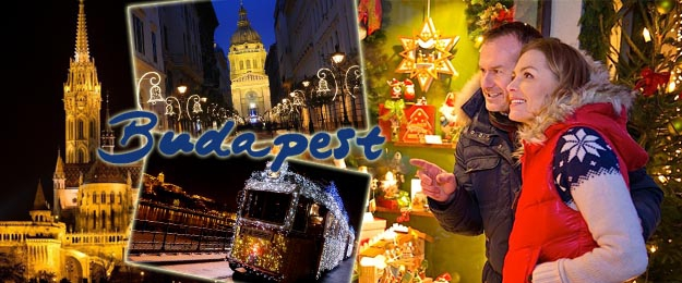 1-dňový adventný zájazd na vianočné trhy do Budapešti