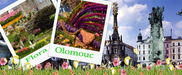Záhradnícka výstava Flora Olomouc
