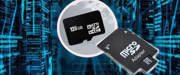 128GB pamäťová MicroSD karta s adaptérom
