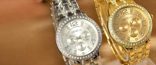 Luxusné dámske hodinky značky Geneva