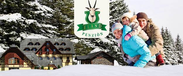 Zima a jar v Pieninách - hotel***+ ELAND pod Tromi Korunami