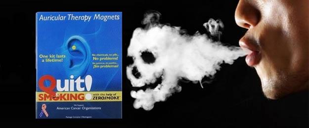 Magnety proti fajčeniu Quit smoking