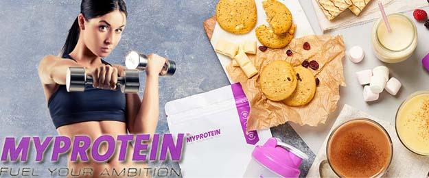 MYPROTEIN - darčekový balíček pre aktívnu ženu