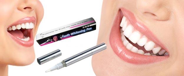 Bieliace pero na zuby