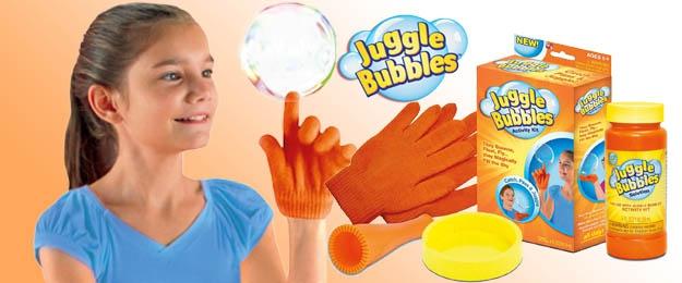 Čarovný bublifuk s rukavicou