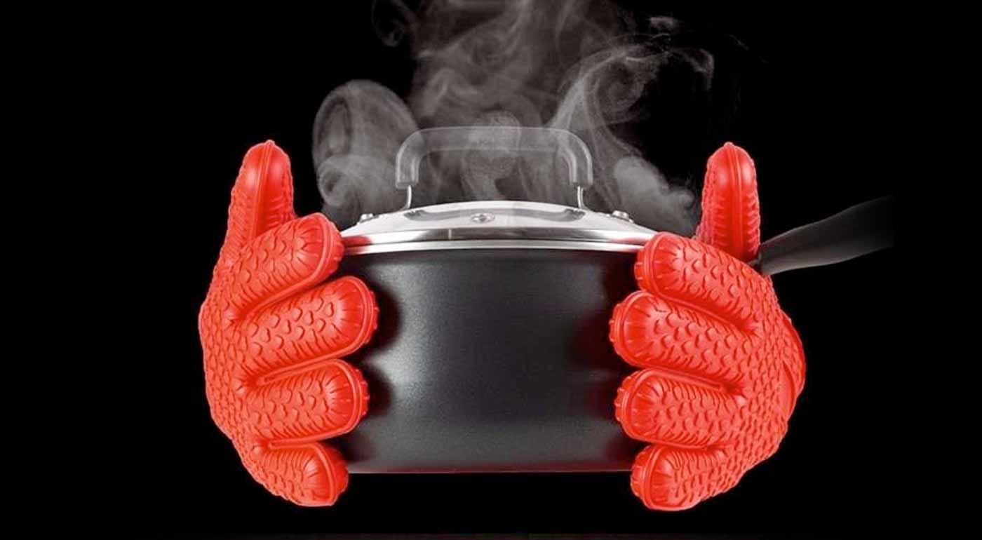 HOT HANDS rukavice na grilovanie a varenie