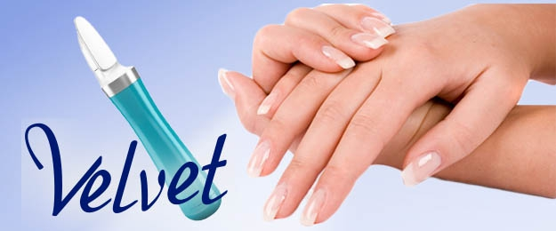 Scholl Velvet smooth - elektrický pilník na nechty