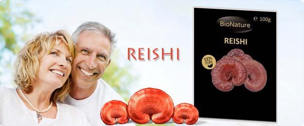Reishi - blahodárna huba večnej mladosti a vitality