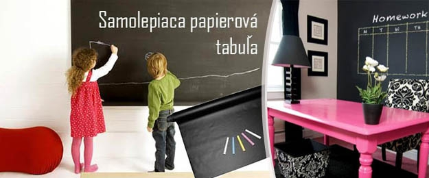 Samolepiaca papierová tabuľa 45x200 cm