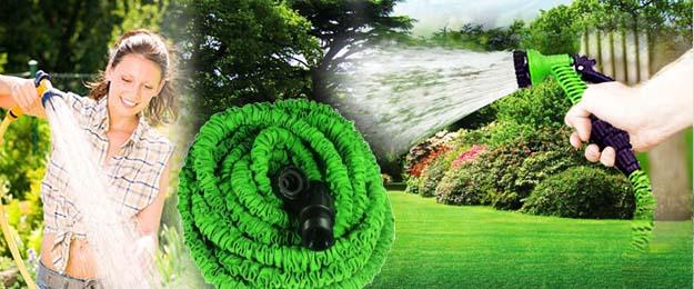 Flexibilná extrémne pevná záhradná hadica