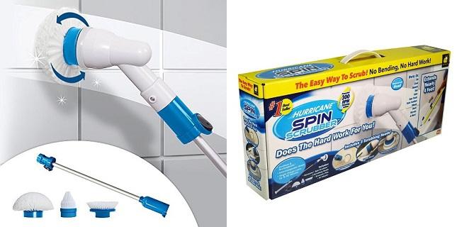 Super čistič Hurricane Spin Scrubber