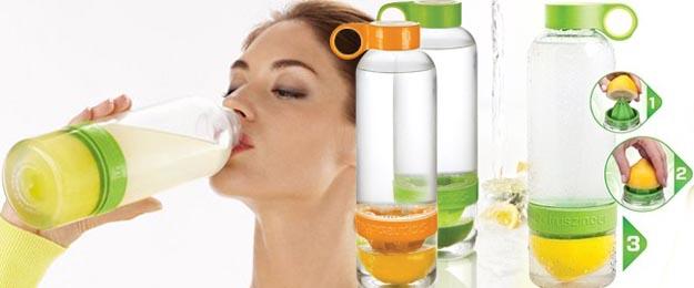 Fľaša CitrusZinger na výrobu citronády