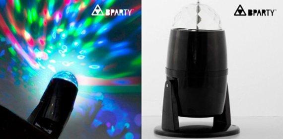 Farebný LED projektor pre každú párty či oslavu