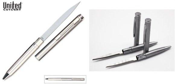 Pero so skrytým nožom