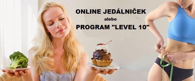 Zostavenie online jedálnička alebo program LEVEL 10