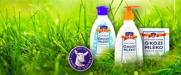 Kozmetické výrobky z kozieho mlieka