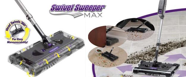 Akumulátorový tyčový vysávač Swivel Sweeper Max