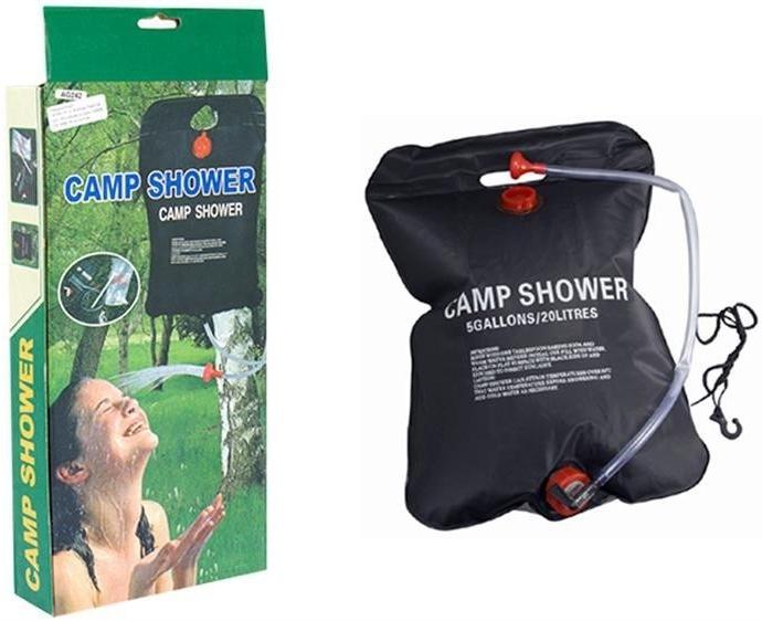 Solárna sprcha s vakom 15 L