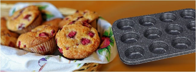 Teflónová forma na pečenie muffinov