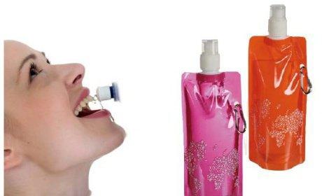 Skladacia plastová fľaša 3ks