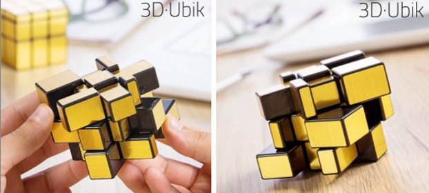 MAGICKÁ KOCKA 3D·UBIK