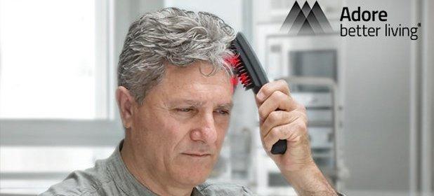 Masážna kefa na vlasy s laserom ADORE·FORCE ONE