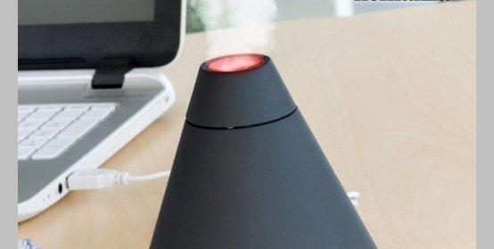 USB zvlhčovač vzduchu s aróma difuzérom HOMANIA
