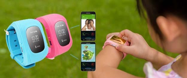 Detské hodinky s GPS lokalizáciou, možnosťou volania a monitoringu