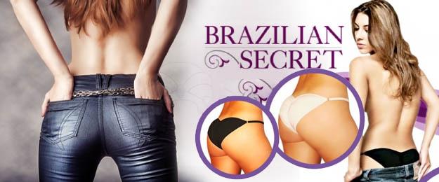 Push up nohavičky Brazilian secret