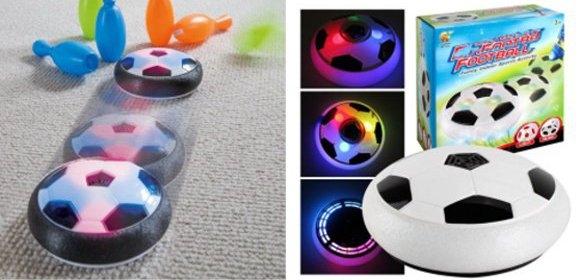 Hover ball - vznášajúca sa a svietiaca lopta na bezpečnú hru v interiéri
