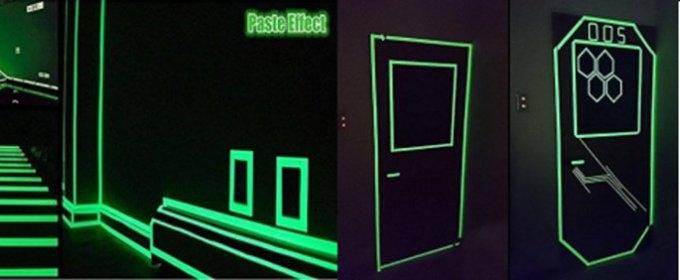 Vodeodolná svietiaca páska