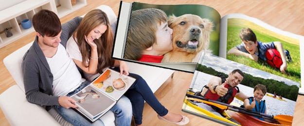 Fotokniha alebo fotozošit z Vašich vlastných fotografií