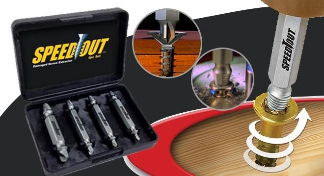 SpeedOut - vyťahovač poškodených skrutiek